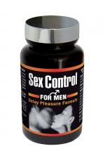 Sex control (60 gélules) - Stimulant aphrodisiaque pour hommes ultra concentré permettant de prolonger l'érection.