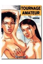 Tournage amateur - Pour son premier tournage porno amateur, Aurélie découvre la sodomie.