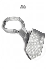 Cravate de Christian Grey - Fifty Shades of Grey - La cravate du célèbre gentleman Christian Grey, pour une utilisation éloignée de sa fonction sociale initiale...