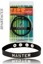 Collier Master Spartacus - Un collier en cuir pour montrer qui est le Maître.