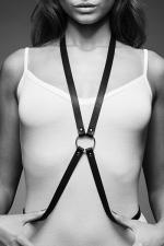 Harnais 8 noir - Maze  - Harnais d'inspiration BDSM, en forme de 8, à porter sur ou sous vos vêtements, en matière 100% Vegan.