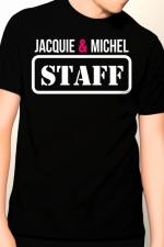 Tee-shirt Jacquie et Michel Staff - T-shirt humoristique Jacquie et Michel pour impressionner votre entourage !