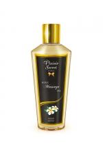 Huile sèche monoï - Huile de massage sèche au doux parfum de monoï pour des massages aussi relaxants que bons pour le corps.