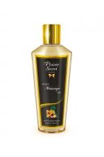 Huile sèche fruits exotiques - Huile de massage sèche au délicieux parfum de fruits exotiques pour des massages aussi relaxants que bons pour le corps.