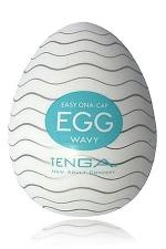 Tenga Egg Wavy - Egg Wavy, un masturbateur de nouvelle génération  en forme d'oeuf, signé Tenga, le génial fabricant japonais.