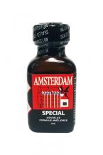 Poppers amsterdam special 24 ml - Le poppers Amsterdam SPECIAL en flacon de 24 ml dans une nouvelle formule améliorée.