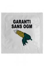 Préservatif humour - Garantie Sans Ogm - Préservatif  Garantie Sans Ogm , un préservatif personnalisé humoristique de qualité, fabriqué en France, marque Callvin.