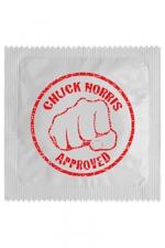 Préservatif humour - Chuck Norris - Préservatif  Chuck Norris , un préservatif personnalisé humoristique de qualité, fabriqué en France, marque Callvin.